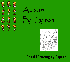 yellow haired guy-Syron